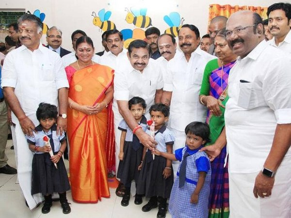 Chief Minister launches nursery classes in govt. schools