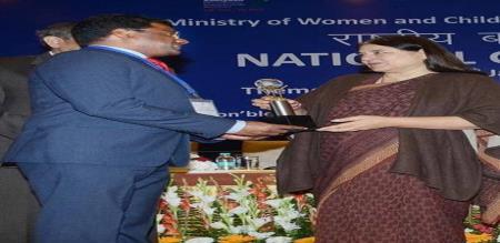 Beti Bachao Beti Padao award for Tiruvannamalai