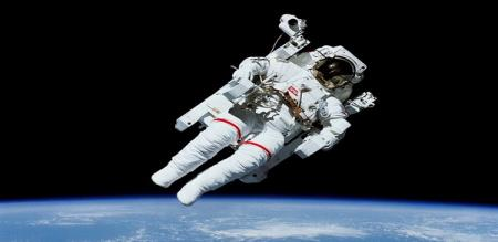 great astronaut Bruce McCandless picture