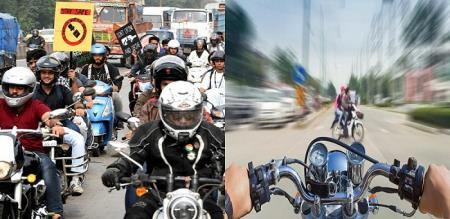 Reason behind motorcycle collisions decoded