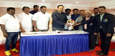 Dr Anbumani elected as the President of TNBA