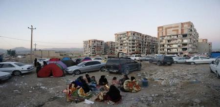 Strong earthquake hits Iran-Iraq