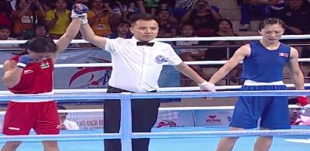 Mary Kom defeats North Korea