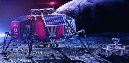 Vodafone targets 4G network on moon