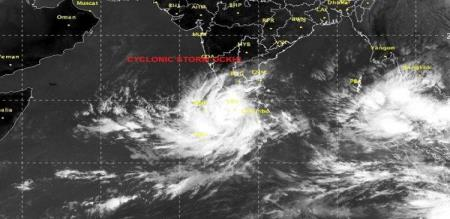 Cyclone Ockhi Intensifies Into severe cyclonic storm
