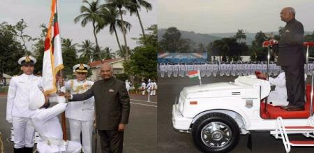 Presidential Colours to Submarine Arm of Navy